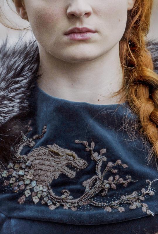 Sansa Stark in Game of Thrones + Costume Details | ©