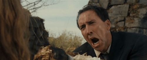 Image result for wicker man nicolas cage screaming