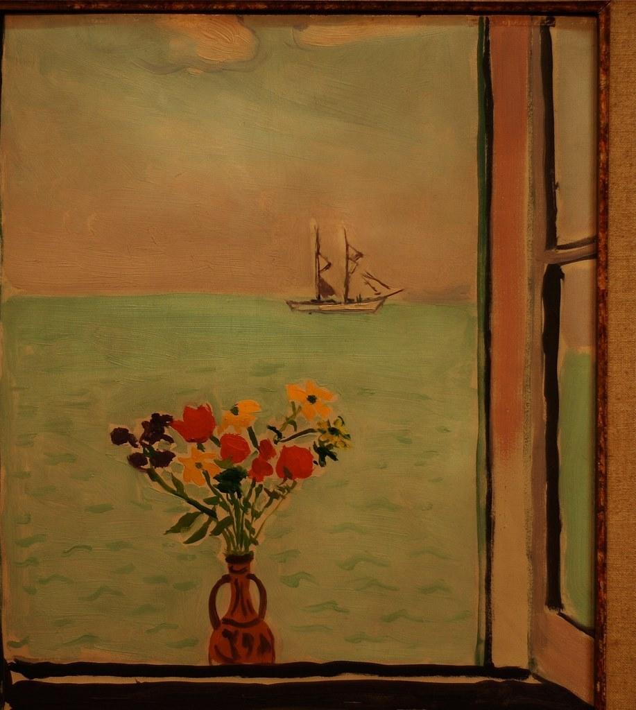 ALBERT MARQUET. Fenêtre à la Goulette, 1926