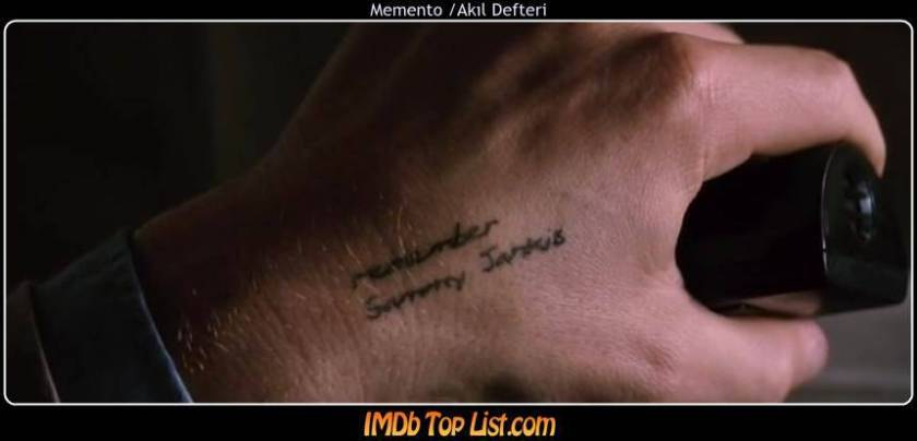 Memento ,2000,Akıl Defteri,Помни, ABD, Christopher Nolan,Guy Pearce,Joe Pantoliano,Carrie-Anne Moss,Mark Boone Junior,113 Dak.,Leonard,Natalie