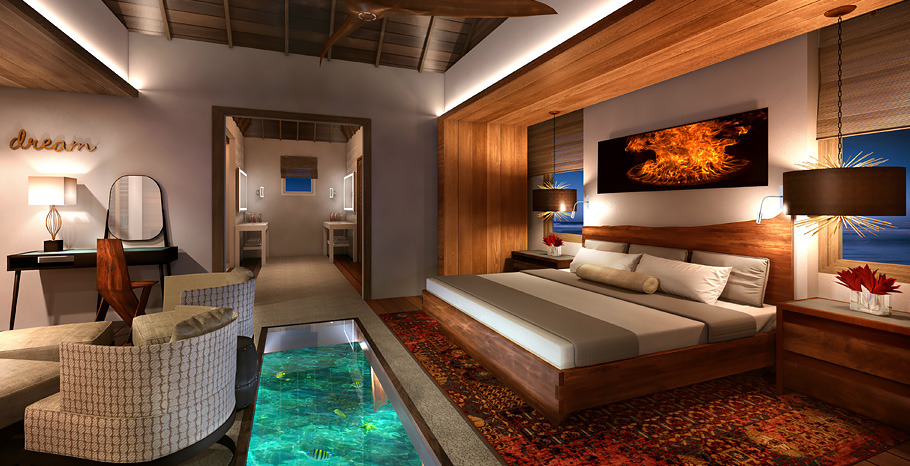 Image result for Bora Bora hut floor
