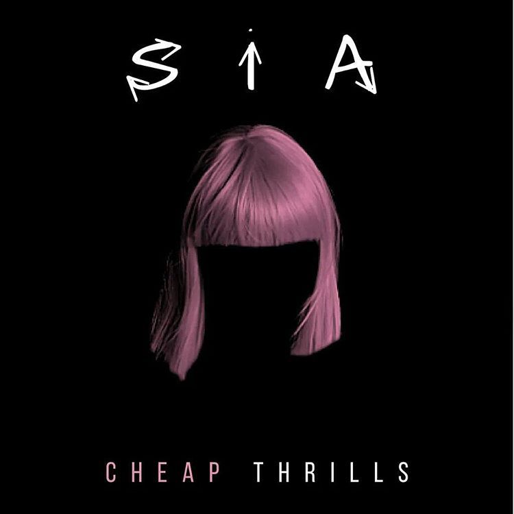 Image result for sia cheap thrills album cover