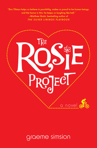 Don Tillman is looking for a wife, enter Rosie, she's everything Don was trying to avoid. With the mishaps of a romantic comedy, The Rosie Project by Graeme Simsion will warm your heart and leave you wanting more. This was one of those books that I'm...
