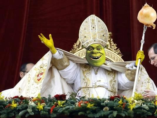 Image result for church of shrek