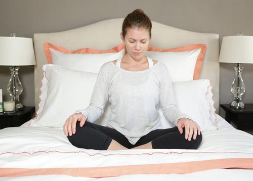 Bedtime yoga routine