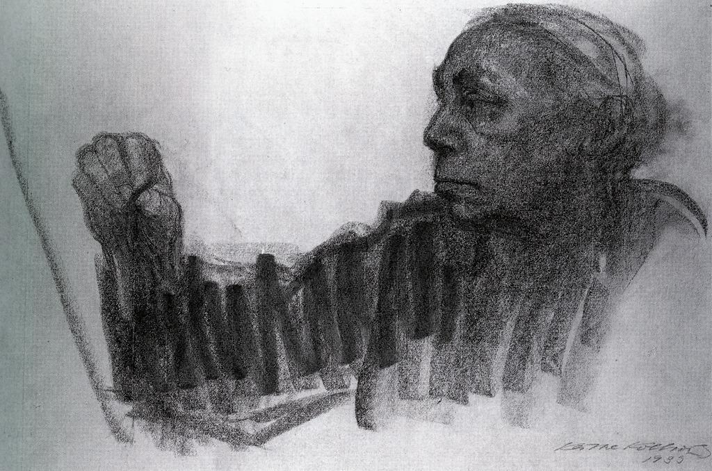 "cavetocanvas: ""Self Portrait - Käthe Kollwitz, 1933 """