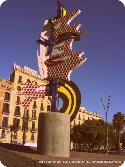 Cara de Barcelona Roy Lichtenstein Carla Pinto Coelho http://foto-graficamente.blogspot.pt/
