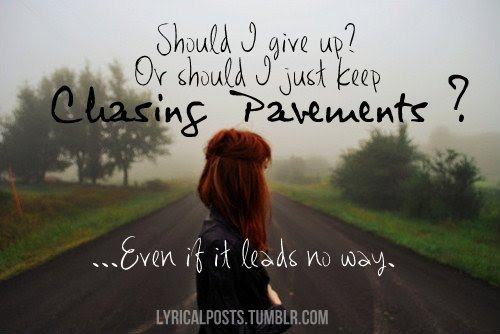 Image result for chasing pavements