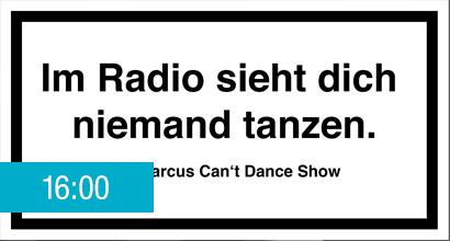 Die Marcus Can't Dance Show