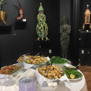 Picture of Catering at Art Opening by 67 Biltmore Downtown Eatery and Catering in Asheville, NC