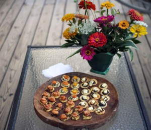 Picture of Appetizers at a Garden Party by 67 Biltmore Downtown Eatery and Catering in Asheville, NC