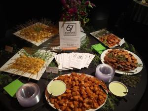 Picture of Diana Wortham Preview Party Catering by 67 Biltmore Downtown Eatery and Catering in Asheville, NC