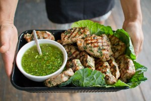 Picture of Pork and Chimmichurri by 67 Biltmore Downtown Eatery and Catering in Asheville, NC