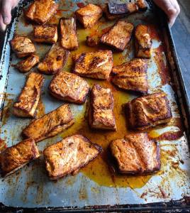 Picture of Roasted Salmon by 67 Biltmore Downtown Eatery and Catering in Asheville, NC
