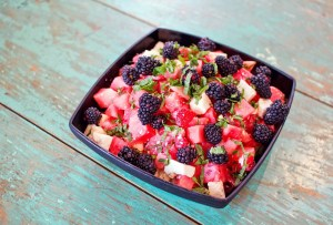 Picture of Watermelon and Berry Salad by 67 Biltmore Downtown Eatery and Catering in Asheville, NC