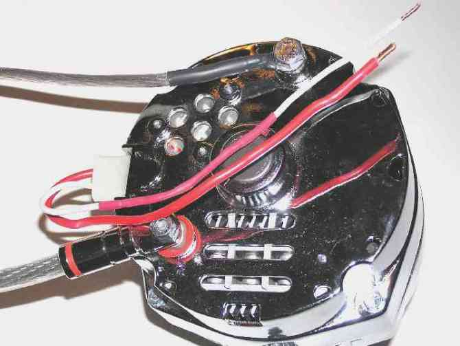 internally regulated alternator conversion