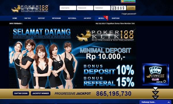 Daftar Akun Judi Poker Online Terpercaya