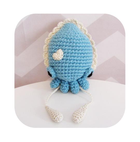 crochet amigurumi pattern cuttlefish