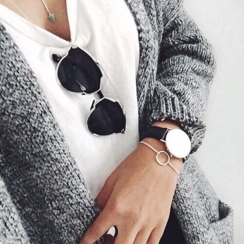 $22.07 Grey longline cardigan. Get it »here« !