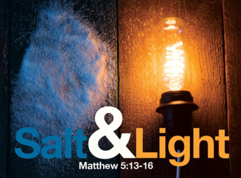 Image result for Matthew 5:13-14