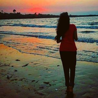 Stay Salty! #beach #sunset #thesoundofsilence #waves #chilling #sandinmytoes #windinmyhair (at Dana Pani Beach)