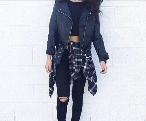 $43.89 Get her black leather jacket »here« !