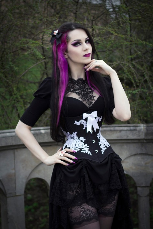 Model Milena Grbovi Gothic And Amazing