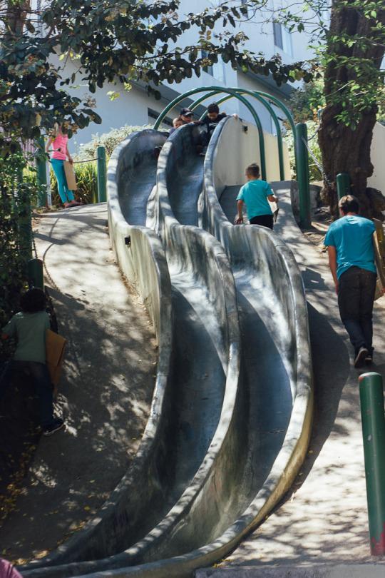 Slides in San Francisco