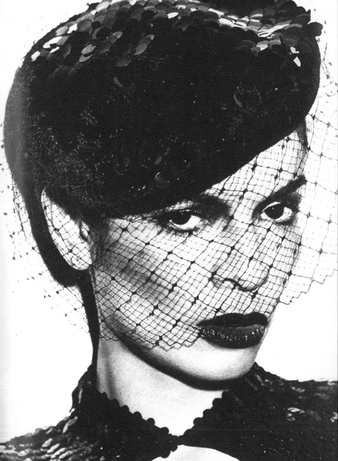 Bianca Jagger by David Bailey in Vogue UK (December 1974)