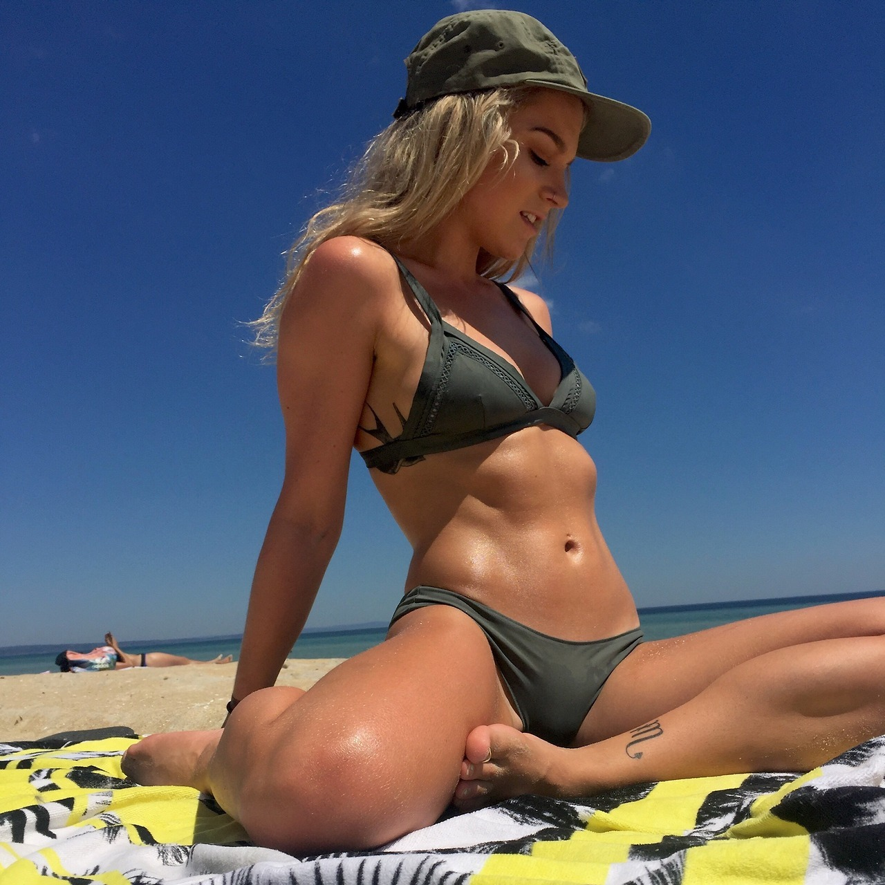 Brand spanking new girl Jcrc showing off a perfect beach body