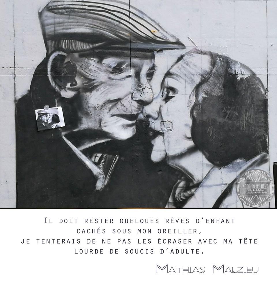 Pierre Bertolotti, Street-Art Bordeaux - Mathias Malzieu, Dionysos, La Mécanique du coeur