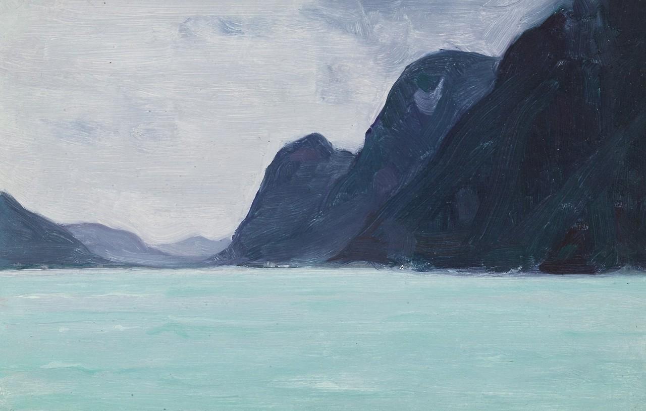 "peira:""Clarence A. Gagnon: La Riviere Vefsna - Helgeland, Norvege (1934)"""