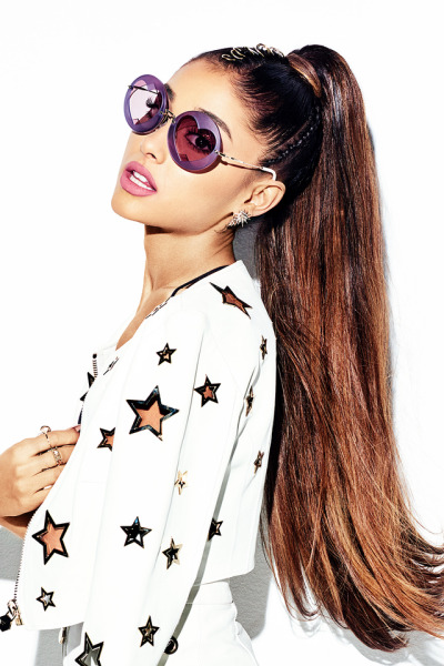 """holymoonave: """"Ariana Grande for Cosmopolitan April issue """""""