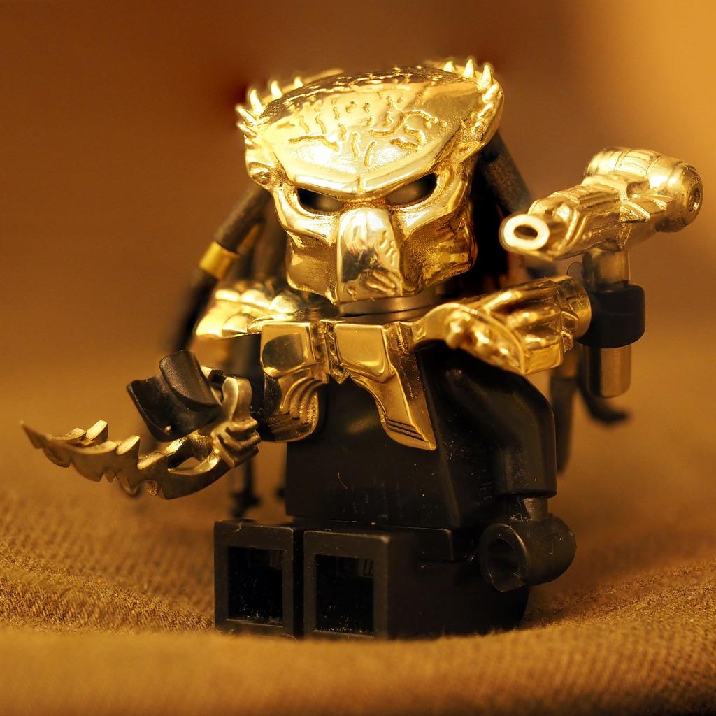 01 Big Bricks Custom Predator Alien vs Predator Minifigs Mini Figure Blocks
