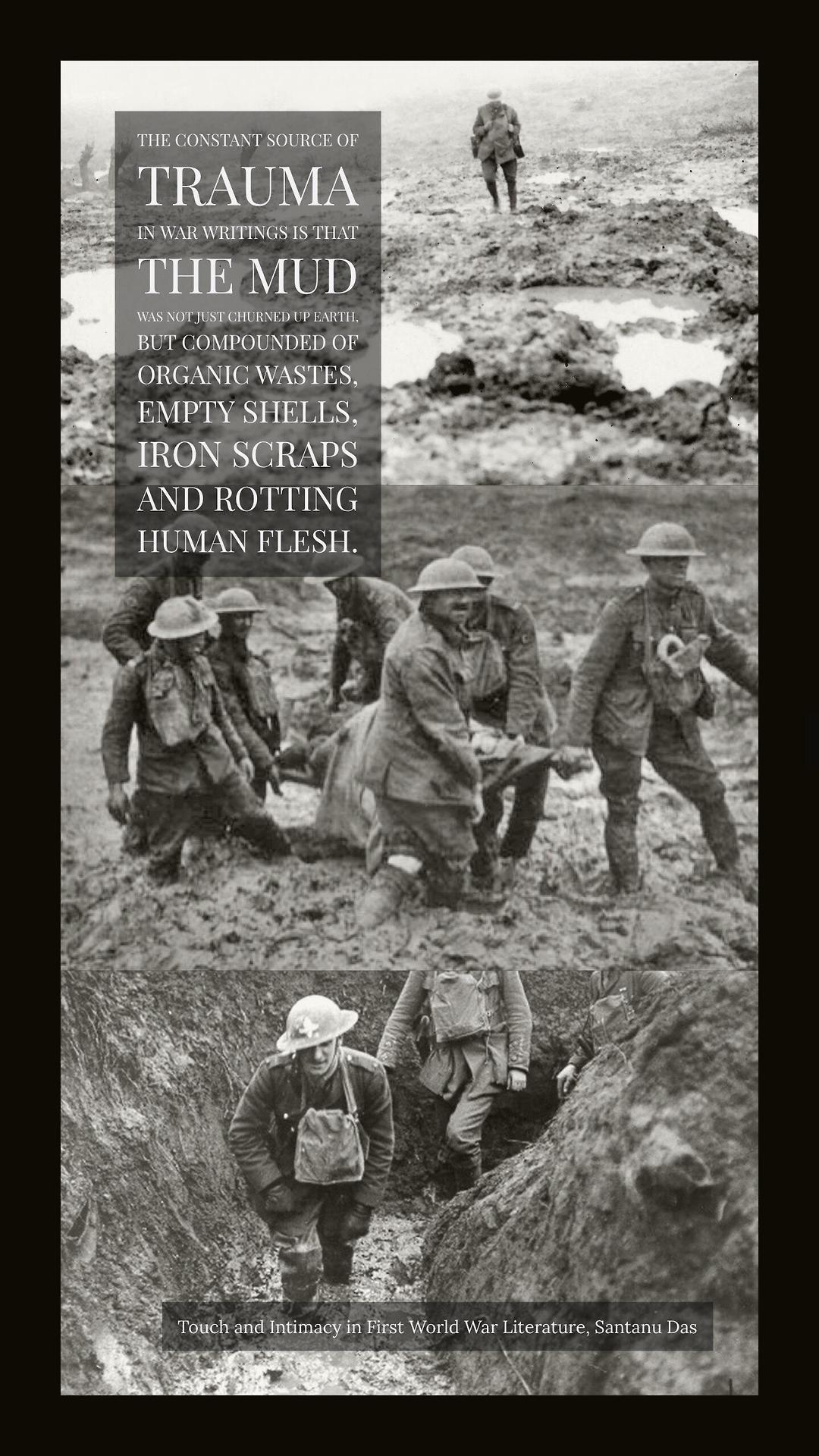 Mud trauma in WW1 inspired by the Dan Carlin s… – History