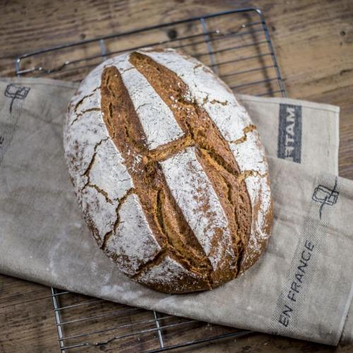 Heike is still baking bread. H-bread )