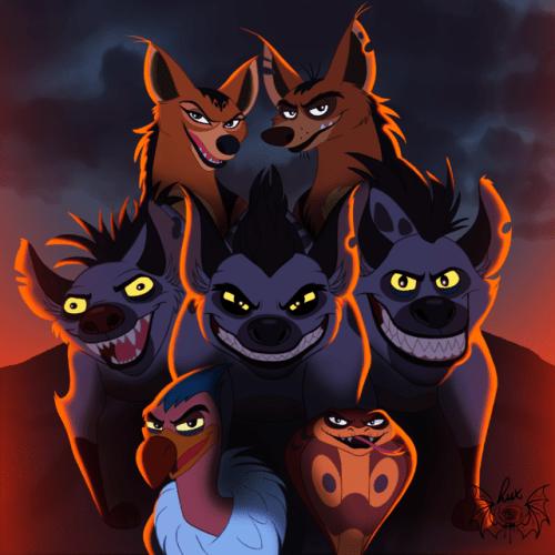 Devarinat Guard Lion Villains
