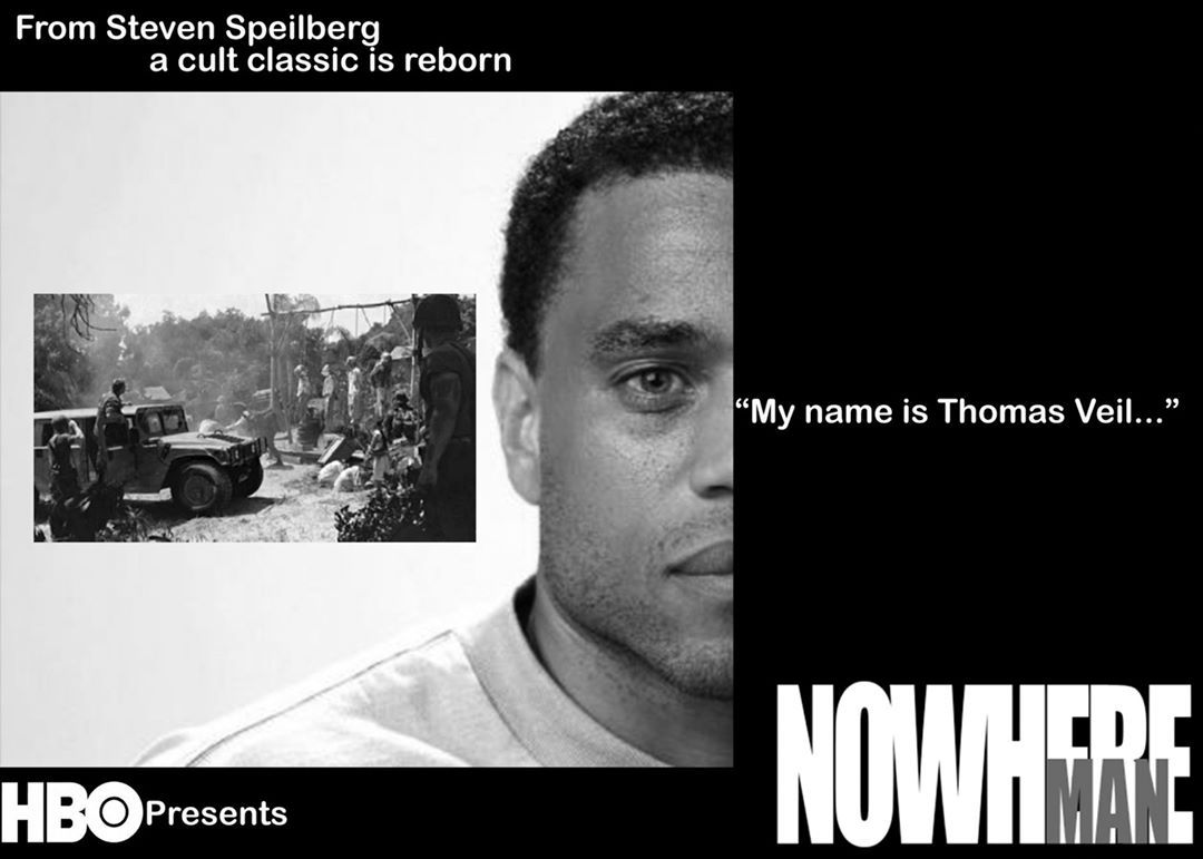 I made this poster a couple of years ago. I found it again on Pinterest (I must not have been using it). In it, I imagine #michaelealy as Thomas Veil in a reboot of UPN's #NowhereMan. #postergrams #postermaking #postermovie #moviefanart...