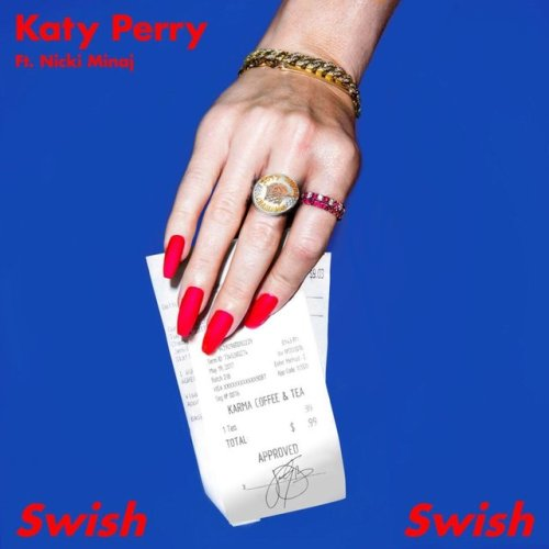 Katy Perry & Nicki Minaj - Swish Swish Artwork