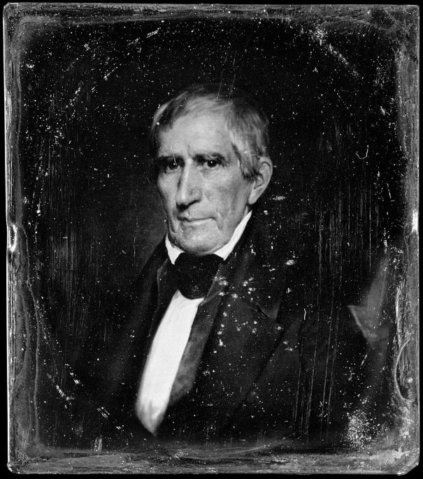 Portrait Of William Henry Harrison 9th President Of The United