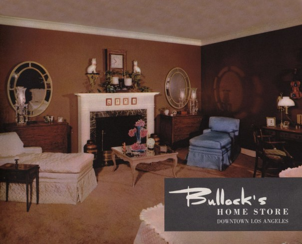 Home Decor, 1946 Bullock\'s Home Store, Los Angeles California ...