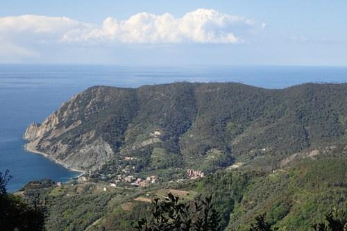 Monterosso depuis la tente