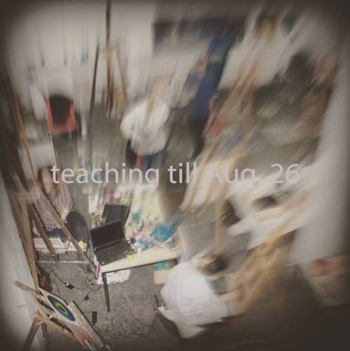 teaching til Aug, 26 then studio time again :) #christophkern #berlin #instaart #painting #contemporaryart #berlinart #malerei #contemporarypainting