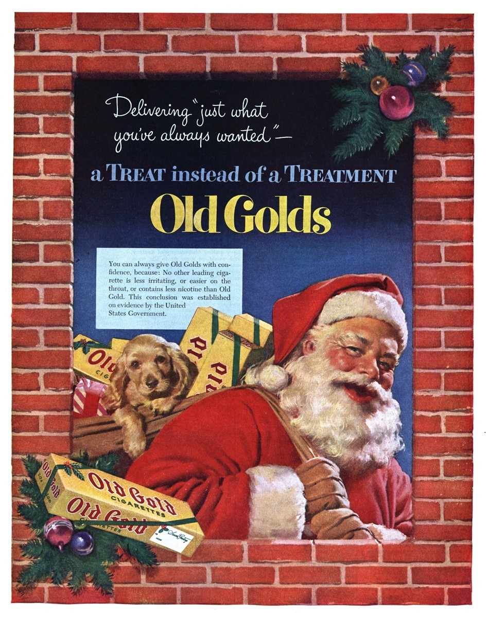 Old Gold - published in The Saturday Evening Post - December 6, 1952
