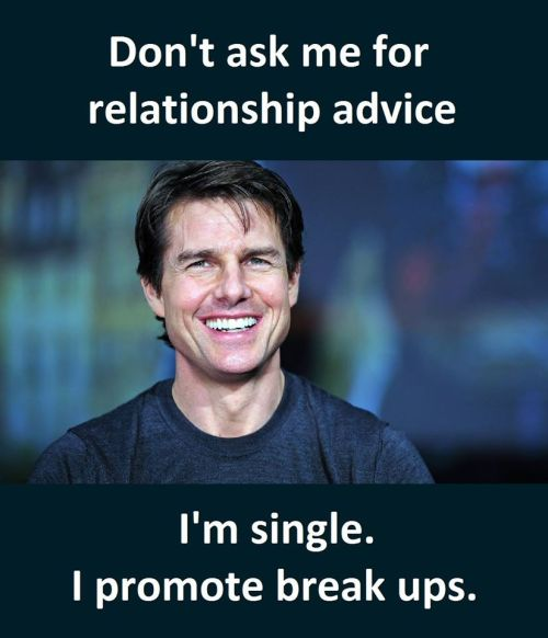 Don't Ask Me I'm single. I promote breakups. Funny Pictures Funny Quotes Funny Memes