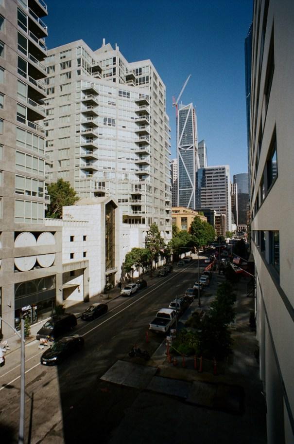 "San Francisco""Vivitar 20mm lens on a Minolta SRT-101 with… – Skylines"
