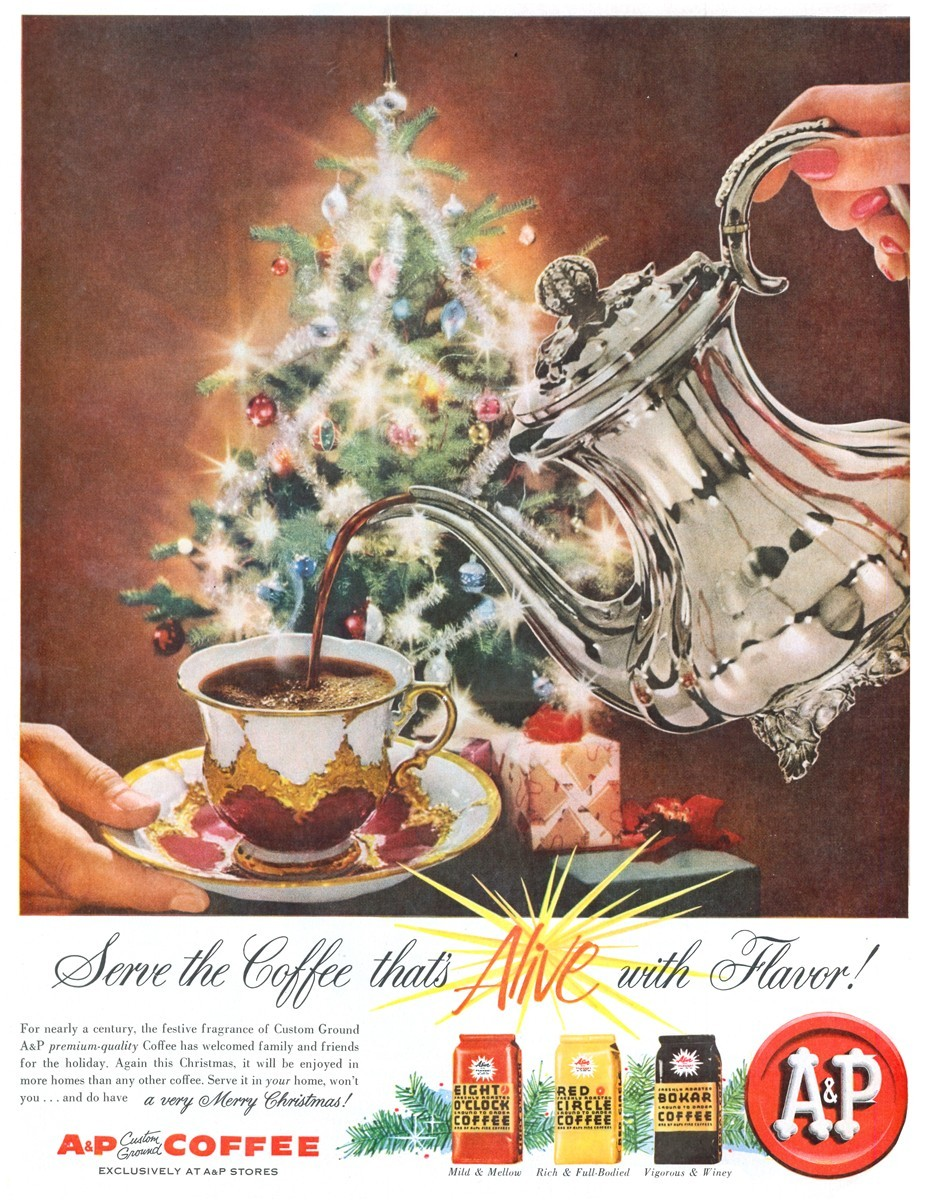 A and P Coffee - published in Life - December 8, 1958