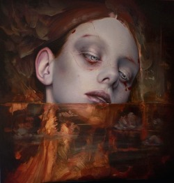 """beinartgallery:SNEAK PEEK 🙌 One of @quintanarte's paintings for our next show """"IV"""". He'll be showing with his studio mates @artofmiso, @elizabethmcgrathart & @esao. Opens Aug 26 at @beinartgallery! For an early ONLINE PREVIEW, join our mailing list 👉👉LINK IN BIO!•Enquiries: 📧 sales@beinart.org https://www.instagram.com/p/BXdADNslhO0/"""