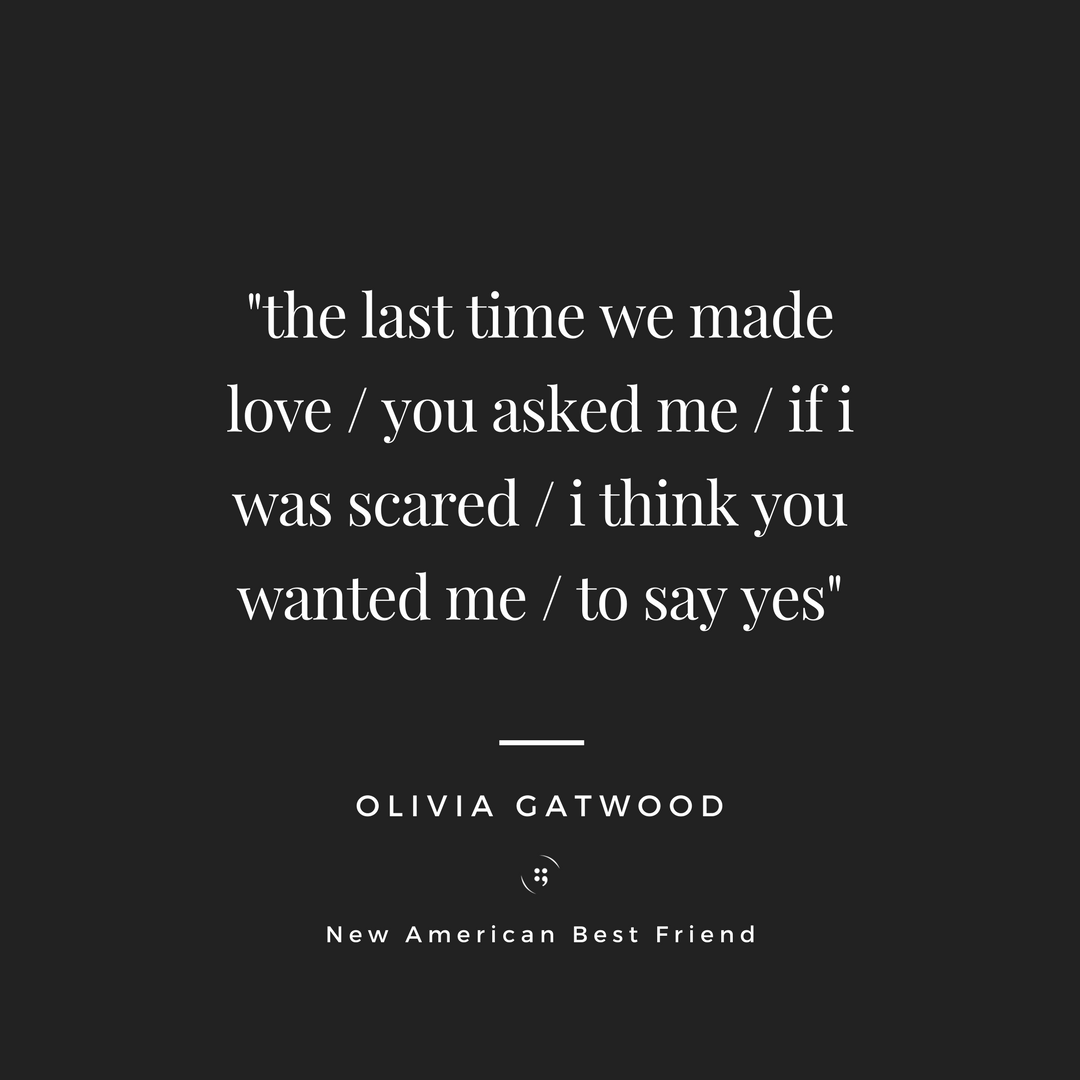 "01f0c0cb8853 From Olivia Gatwood's, ""The Scholar"". Check out the full poem… – Poetry"