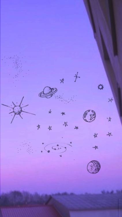 Iphone Cute Purple Aesthetic Wallpaper Novocom Top